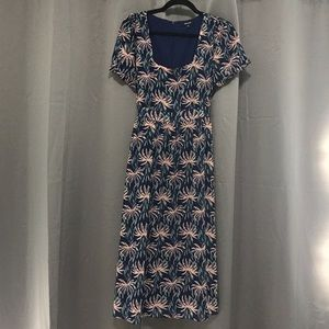 Madewell Tie Back Floral Dress